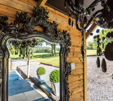 Dom Pérignon Lodge Mirror